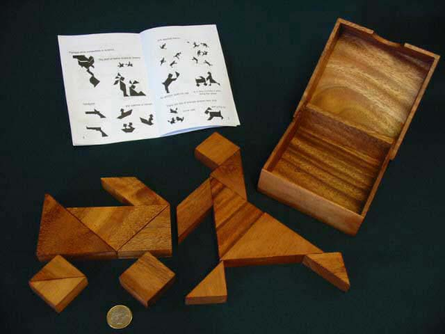 Tangram 14 piece puzzle and game